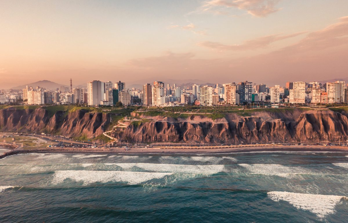 Miraflores is the most upscale and exclusive residential and commercial district of Lima.