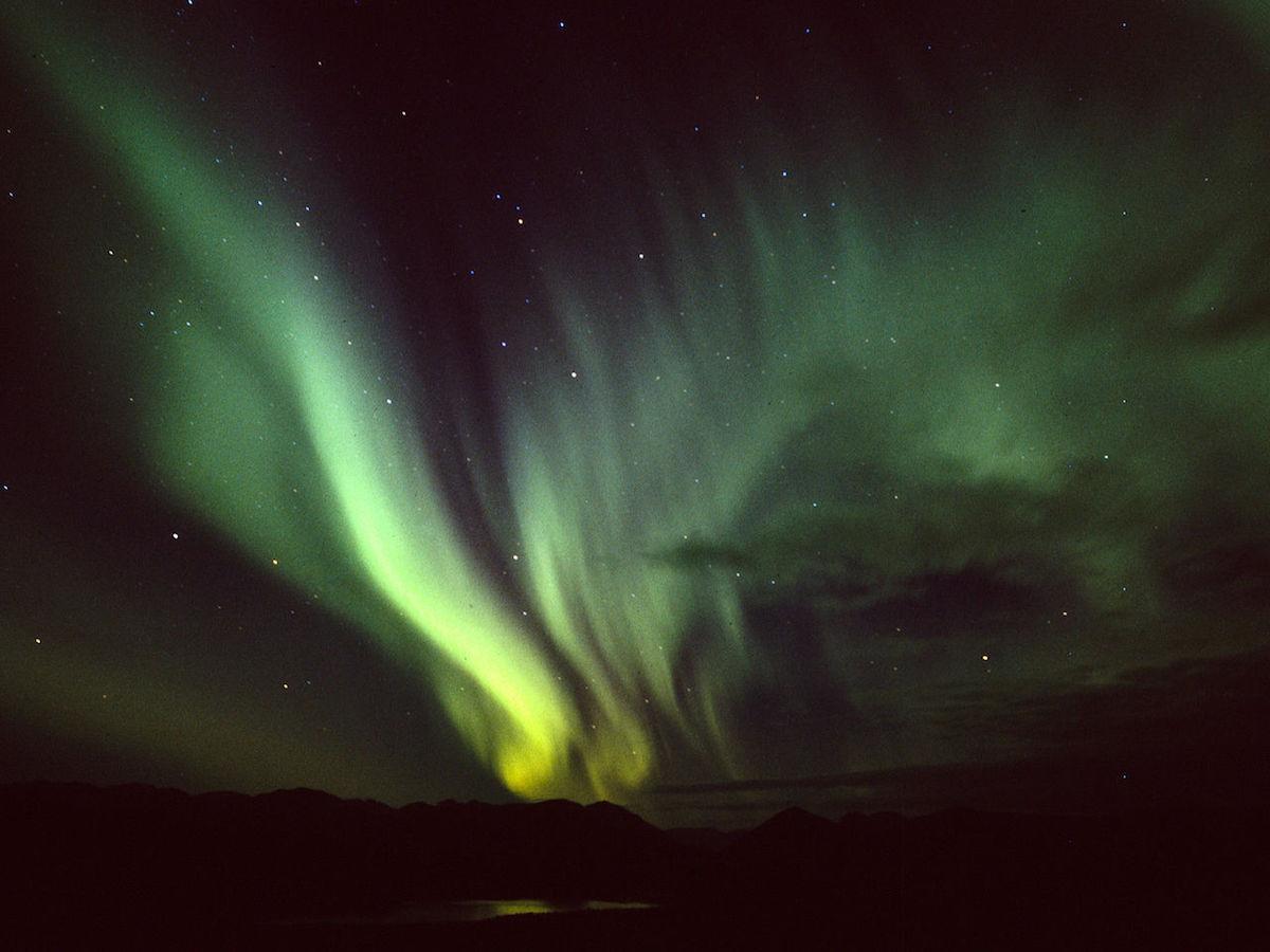 Aurora Borealis, Fish Lake, Yukon