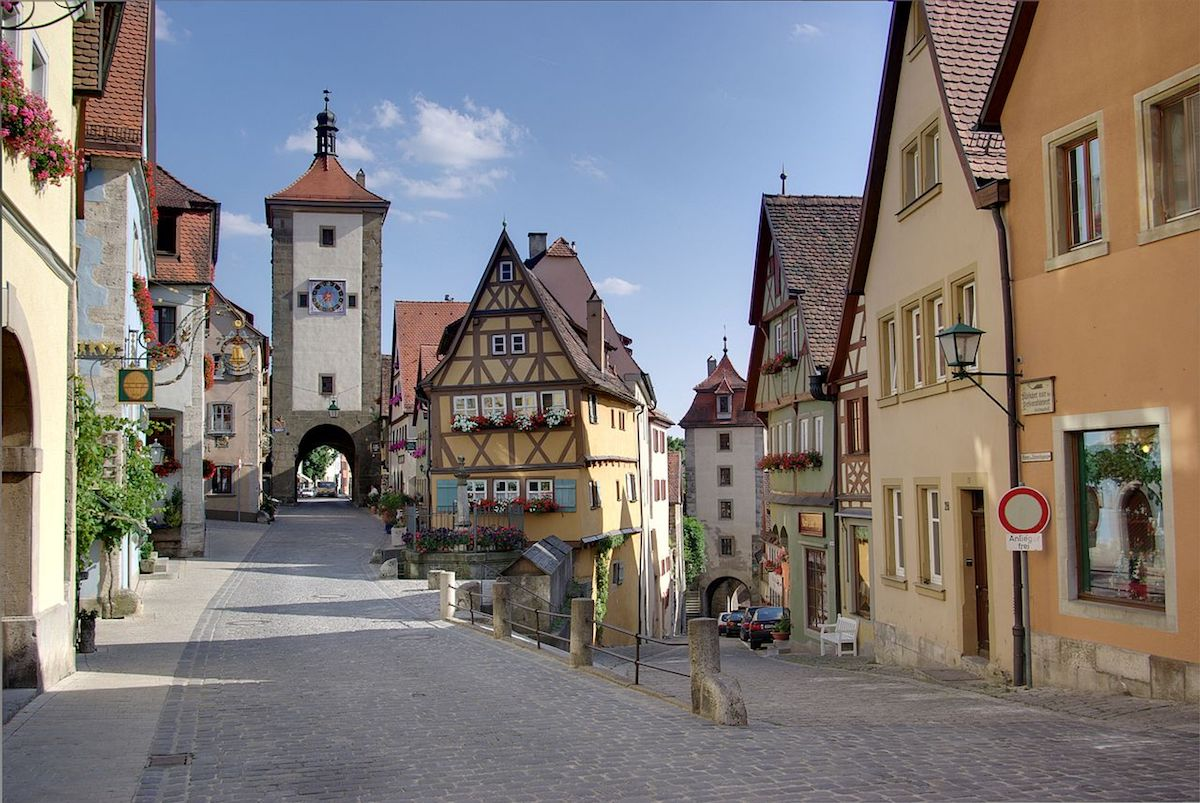 Romantic Road, Rothenburg