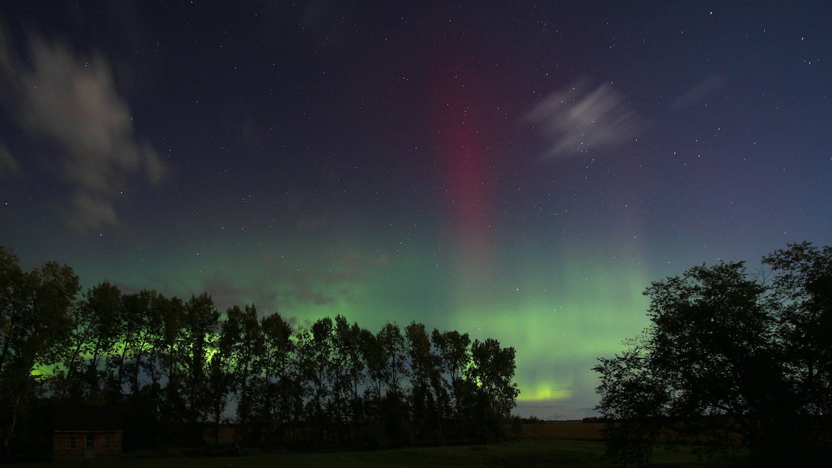 Northern Lights, St. Andrews, Manitoba, Canada