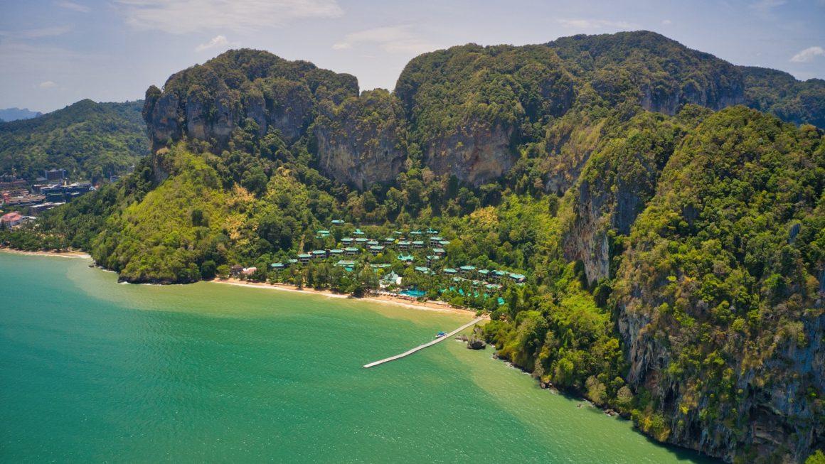 Turquoise water in Ao Nang Krabi, Thailand