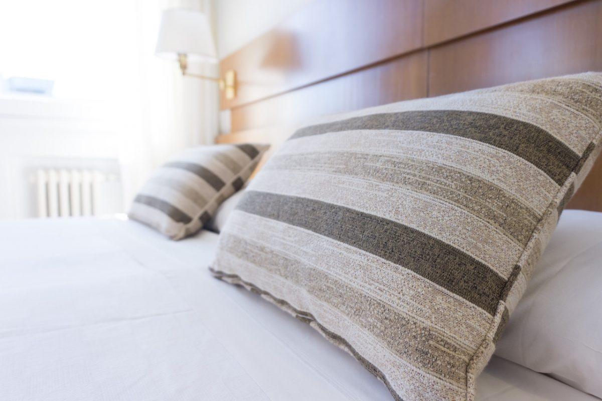 Hotel room housekeeping