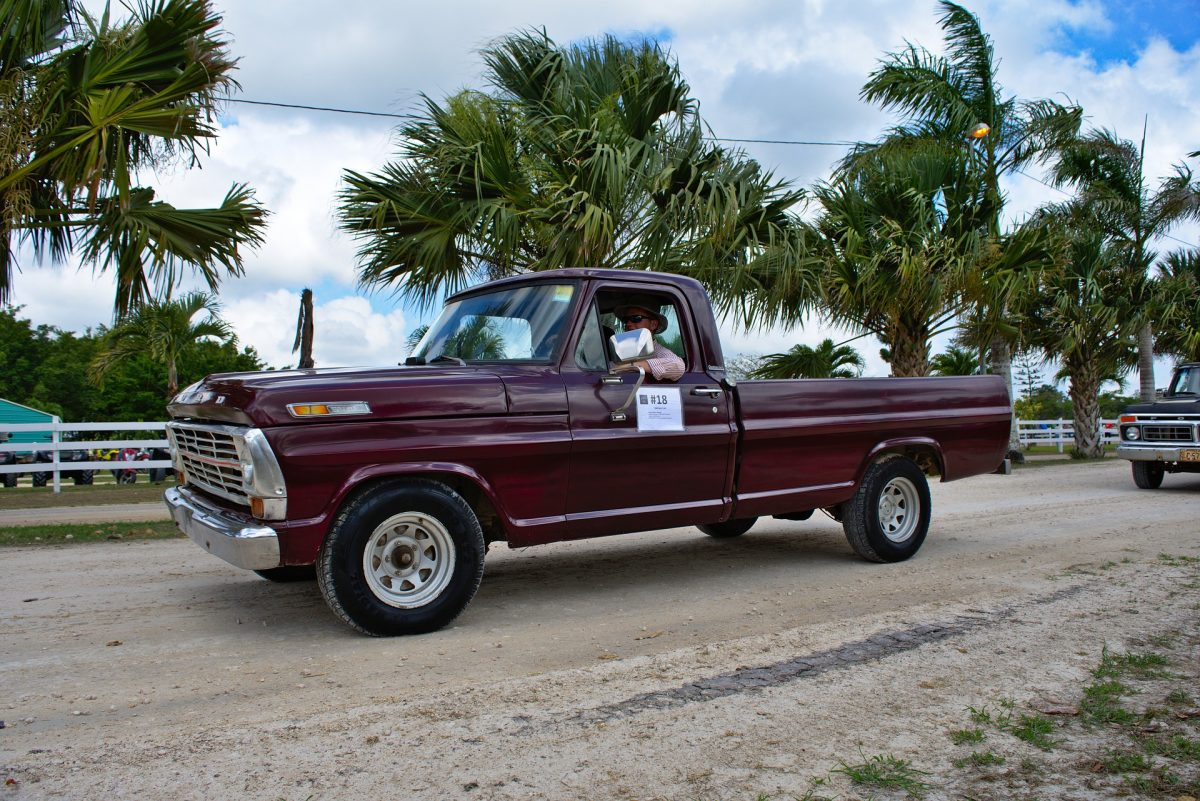 Pick-up Truck at Placencia, Belize
