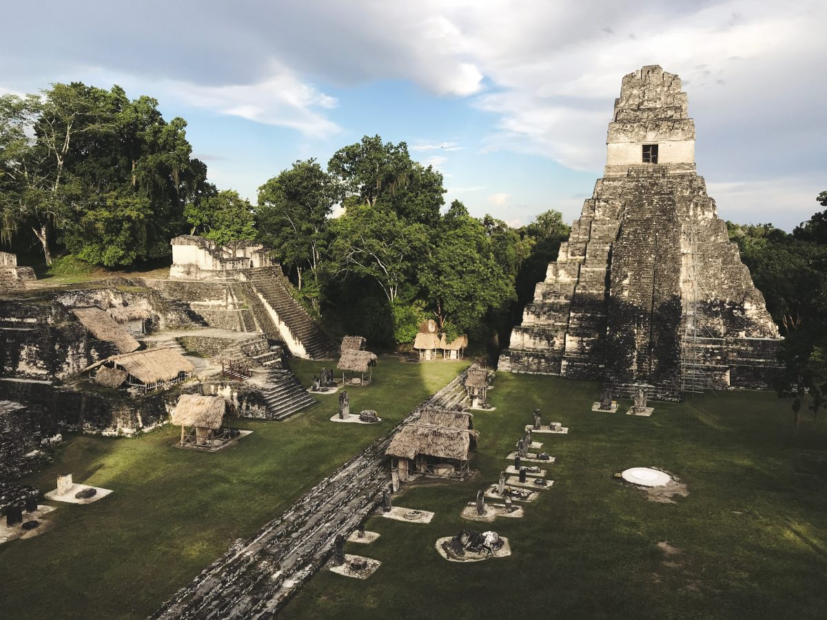 Ruins of Tikal in Peten Guatemala