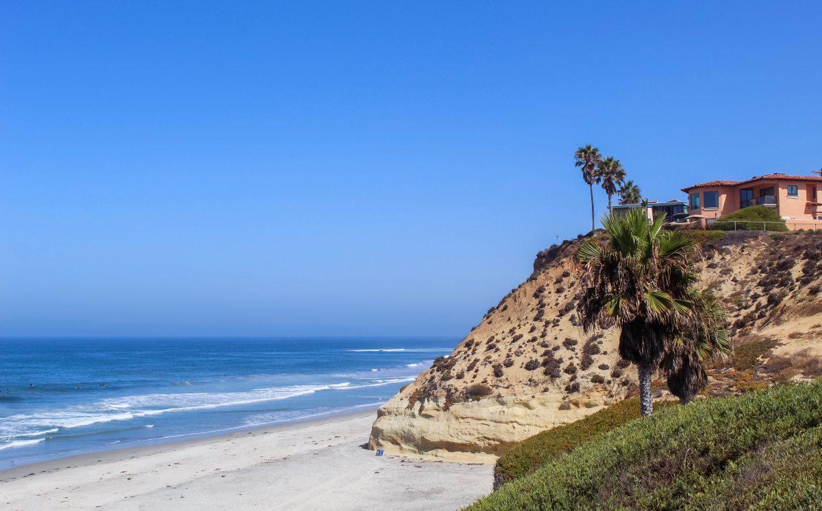 House overlooking Solana Beach, San Diego