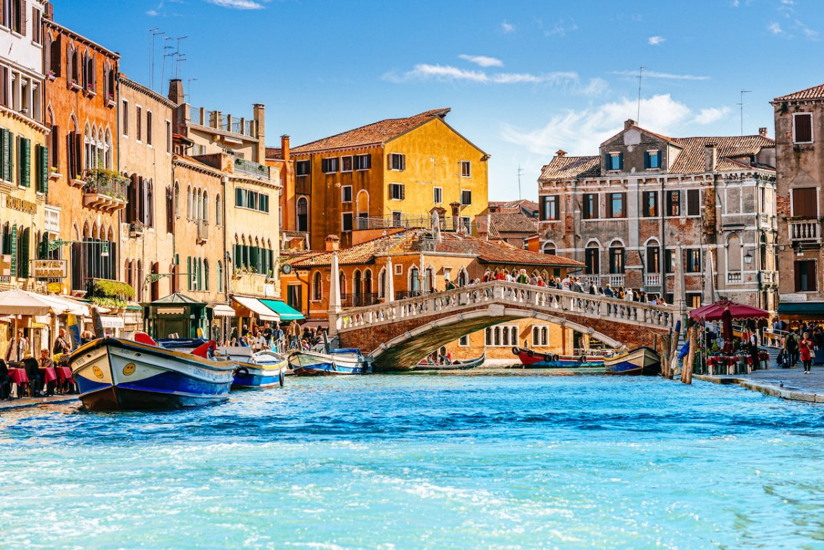 Cannaregio the northern part of Venice