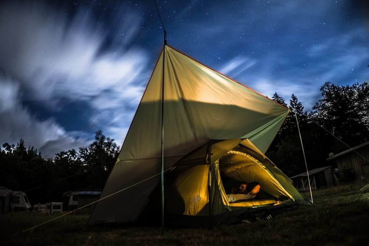 Camping at the Great Smoky Mountain National Park