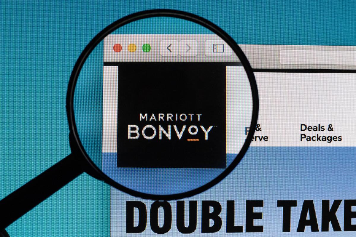 Marriott Bonvoy Web search