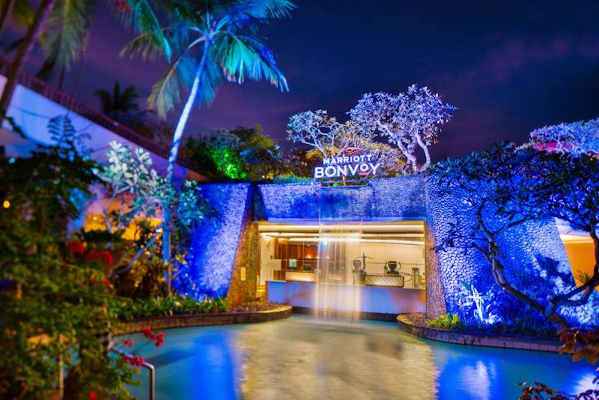 Marriott Bonvoy name as seen in The Laguna, a Luxury Collection Resort & Spa, Nusa Dua, Bali