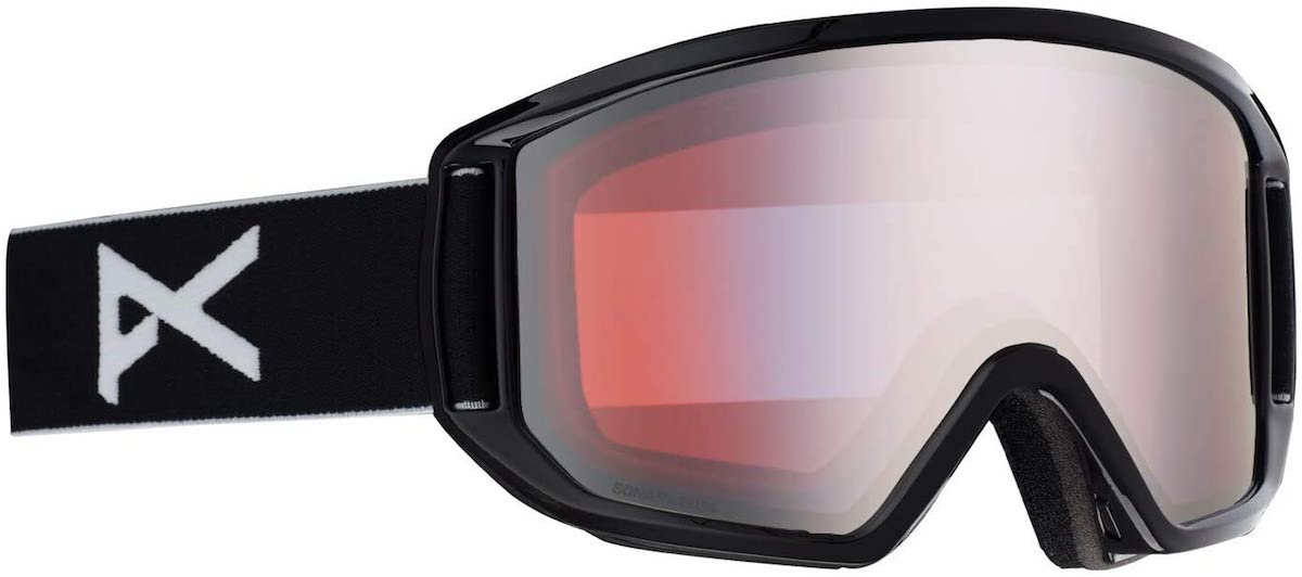 Anon Relapse Goggle in Black Frame Sonar Silver Lens