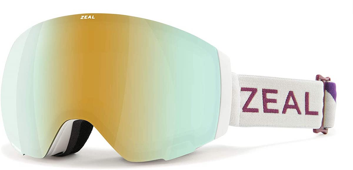 Zeal Portal ski goggle in Alchemy Mirror