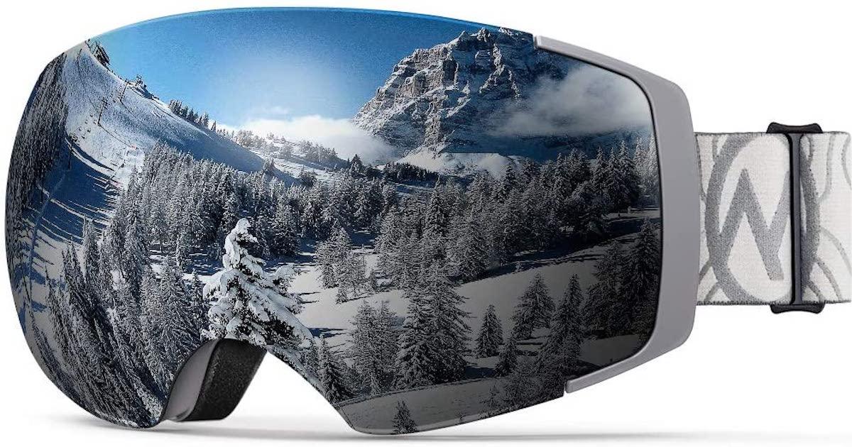 OutdoorMaster Ski Goggles PRO in Camo/Grey