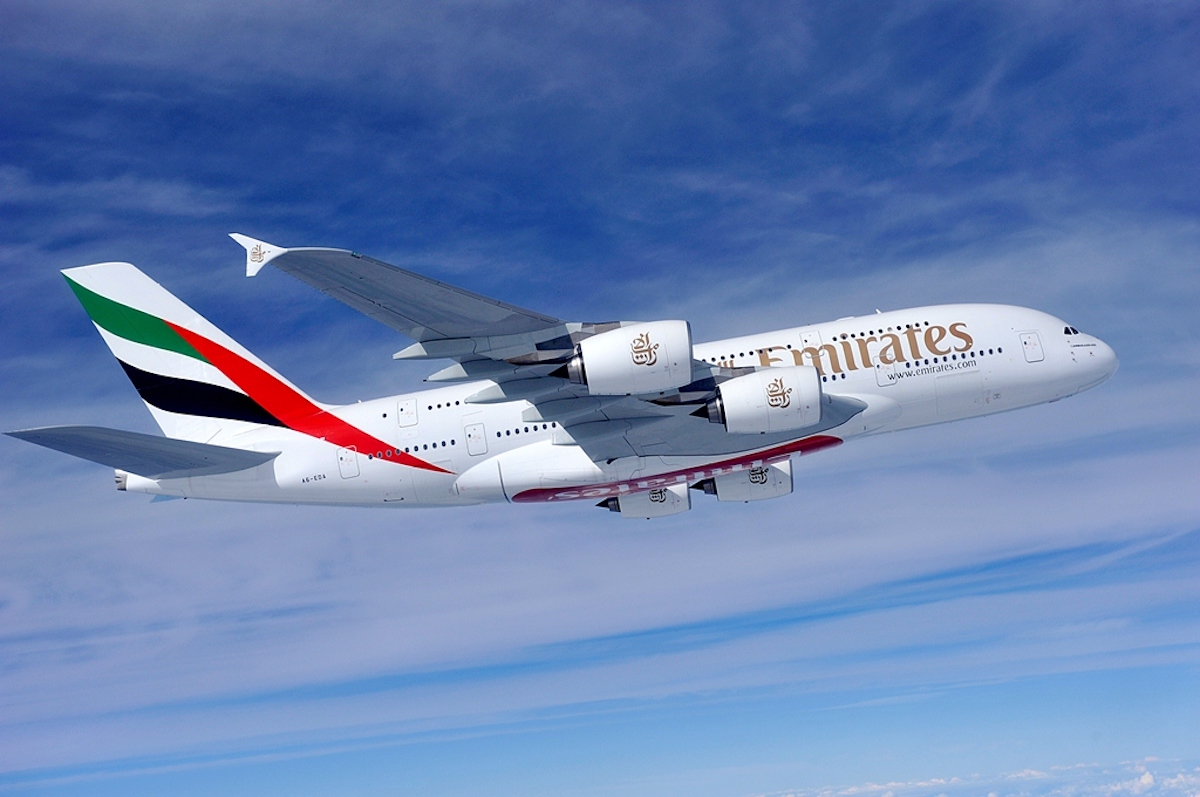 The ultra-efficient and spacious Emirates A380