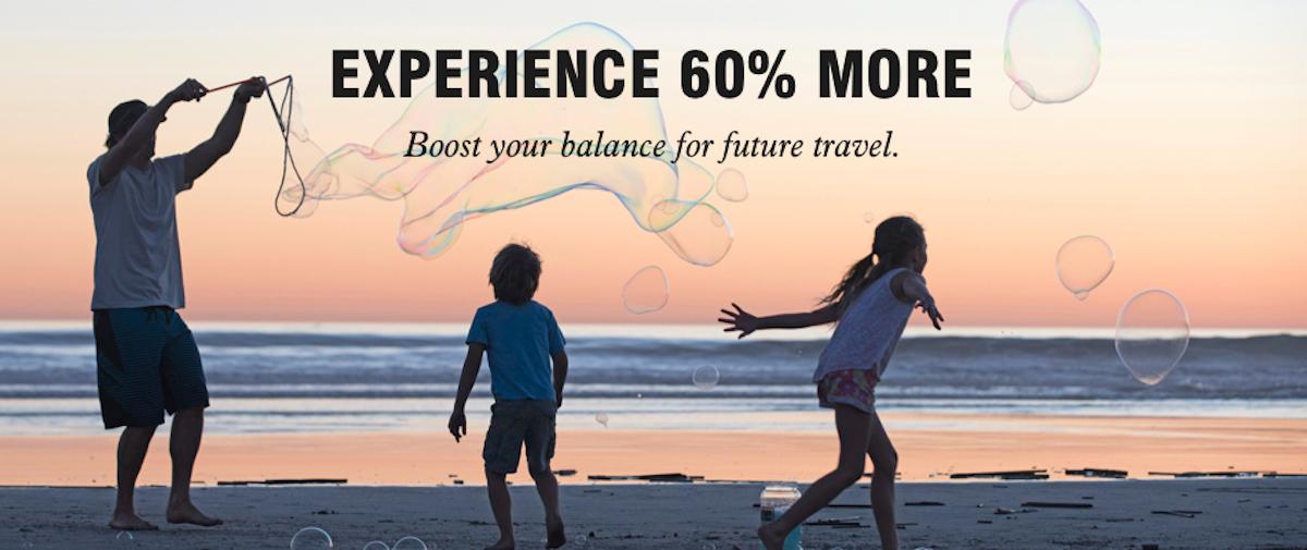 Buy Points ad on Marriott Bonvoy website