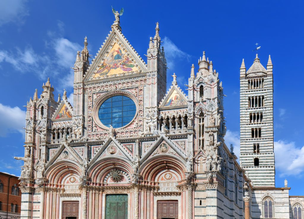 Duomo of Siena, The Cathedral in Siena Italy