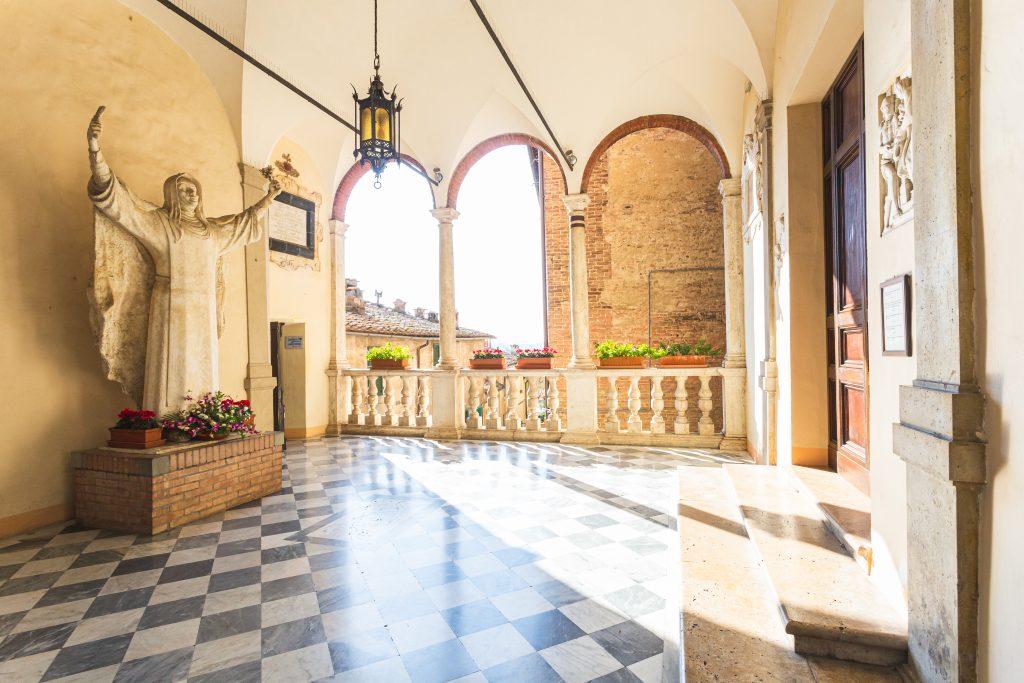 Santuario di Santa Caterina, house of Saint Catherine of Siena