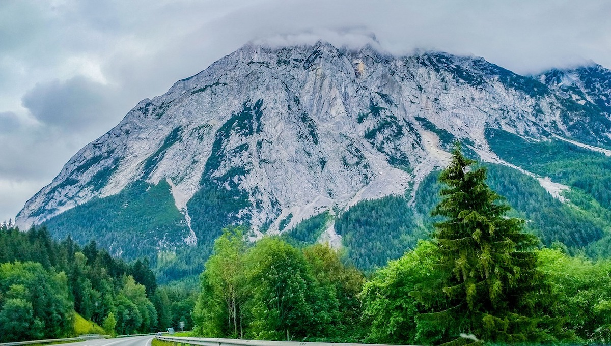 The mountains of Hallstatt is home to breathtaking hiking and biking trails.