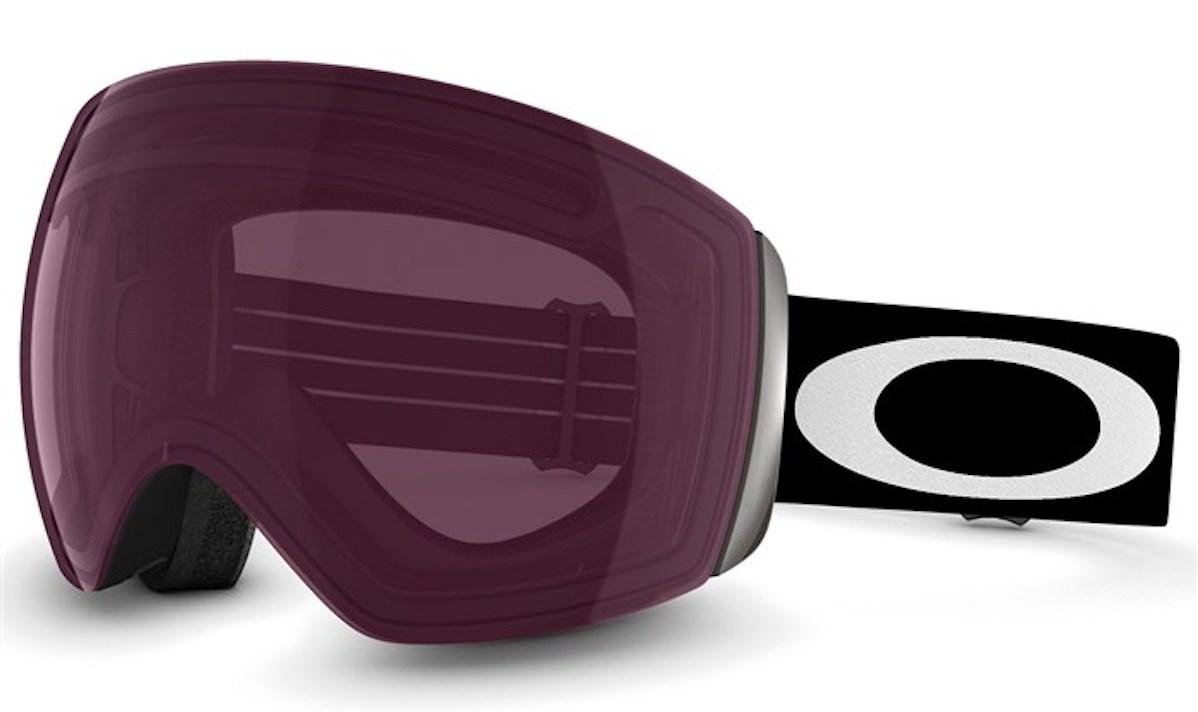 Oakley Flight Deck goggles in Matte Black/Prizm Rose