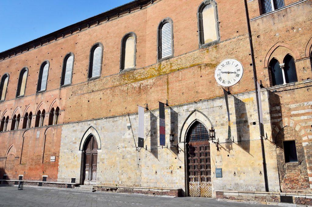 Complex of Santa Maria della Scala, museum in Siena Italy