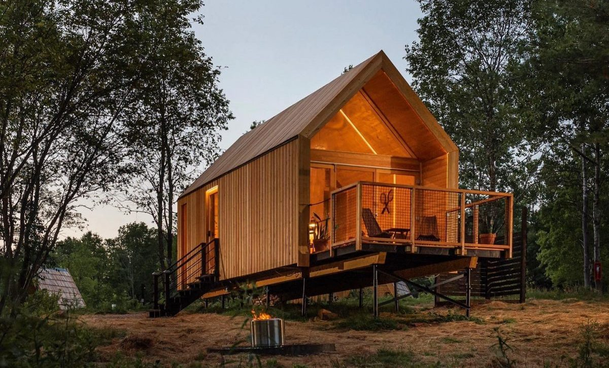 Unique Northern European accommodation near New York for your glamping needs