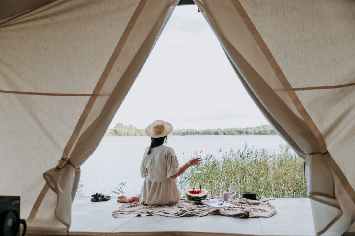 Glamping by the Lake