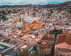 Cityscape of Mexico