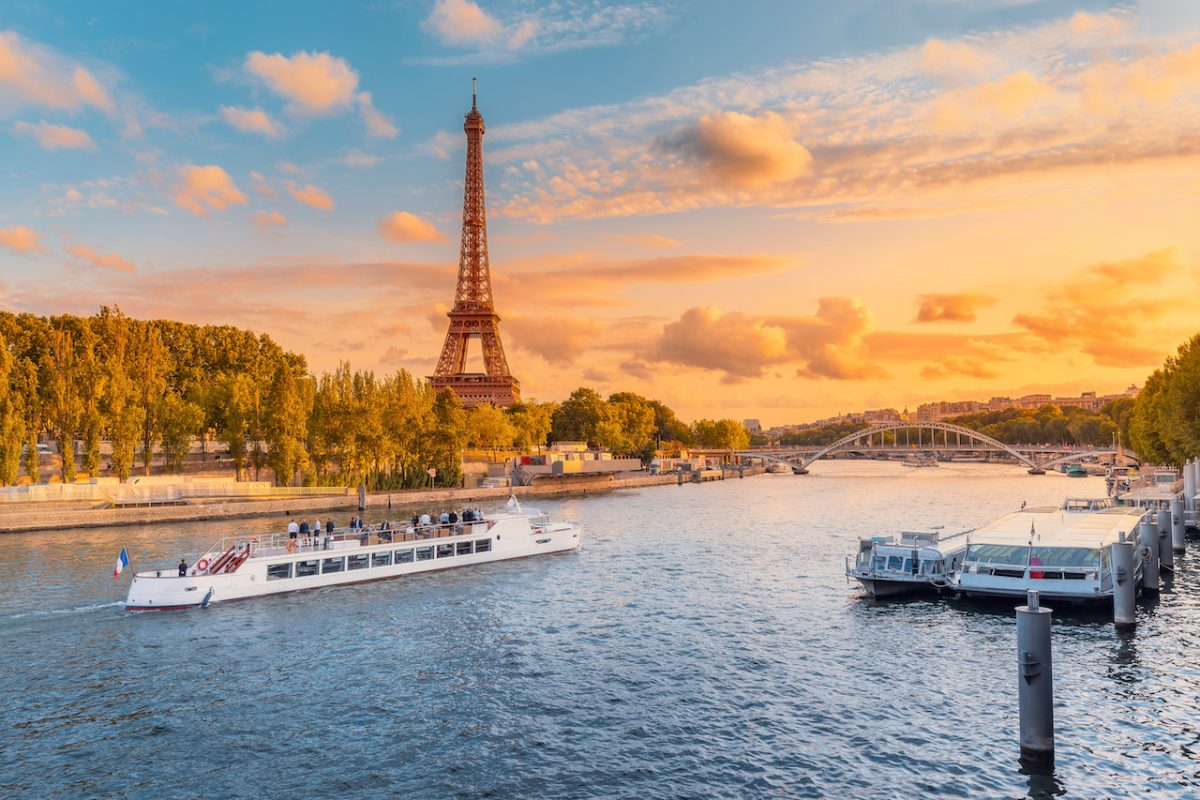 Siene Sunset dinner cruise in Paris